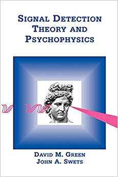 Signal detection theory and psychophysics download youtube