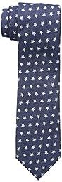 Tommy Hilfiger Men\'s Denim Star Slim Tie, Blue, One Size