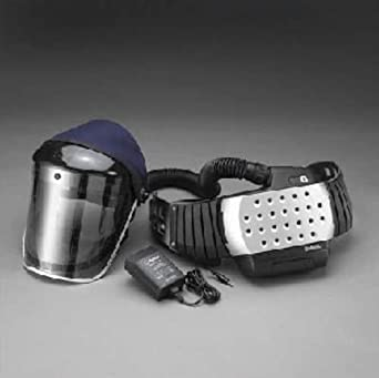 3M Speedglas Adflo Powered Air Purifying Respirator HE System With Clear Visor