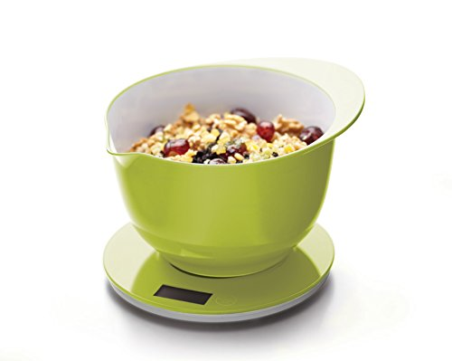 Kitchen Craft Colourworks Balance culinaire 5 kg Vert