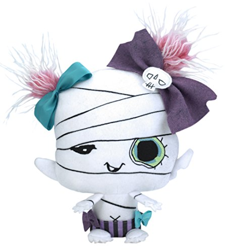 "Vamplets - Mummy Baby - 13"" Tall Designer Toy Plush Doll - Great Gift For Monster High Fans - Decayette Shroudmore - Lives in the Nightmare Nursery of Gloomvania - By My Little Pony designer G-Ra"