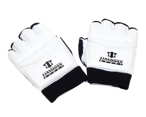 SportsStyle finger glove Tae kwon do karate fist supporters armor knuckle guards (M size)