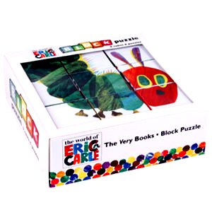 Cheap Fun Mudpuppy Eric Carle Very Hungry Caterpillar Block Puzzle Game Set (B002D3E7CO)