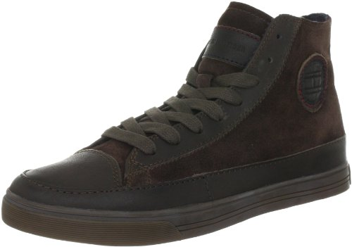 Tommy Hilfiger Men's VINCENT 1 Trainers FM56814812 Dark Brown 201 7 UK