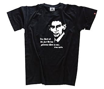 Franz Kafka - Das Buch ist die Axt für das gefrorene Meer in uns T-Shirt Schwarz S