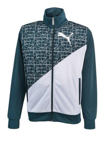 Puma Graphic Poly giacca uomo Track, Uomo, june bug, XXL