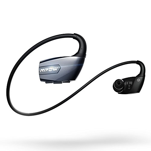 Mpow Antelope Auricolari Bluetooth 4.1 Wireless Sportivi con Vivavoce, Cuffie Noise Cancelling CVC 6.0 per Sport, Headphone per iPhone 6 6s plus 5s 5c 5 4s, Samsung Galaxy S6 Edge S5 S4 S3 NOTE 4 3 2, Sony, Huawei, Xiaomi ed altri Smartphone