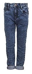 Vitamins Boys' Jeans (01B-635-30-Dx Cloud Wash_Dark Blue_7 - 8 Years)