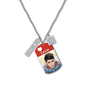 One Direction 16 Tag Necklace - Zayn Official 1d Merchandise from Global