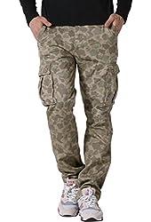 Match Men's Casual Cargo Pants Outdoors Work Wear #6531