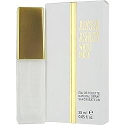 ALYSSA ASHLEY WHITE MUSK by Alyssa Ashley EDT SPRAY .85 OZ for WOMEN ---(Package Of 3)