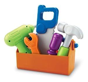 (历史最低) Learning Resources Tool Set 宝宝迷你工具套装,过家家的必备品,$14.99