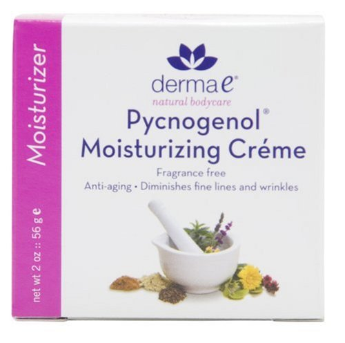 derma e Pycnogenol Moisturizing Crme with Vitamins C, E, and A, 2-Ounces