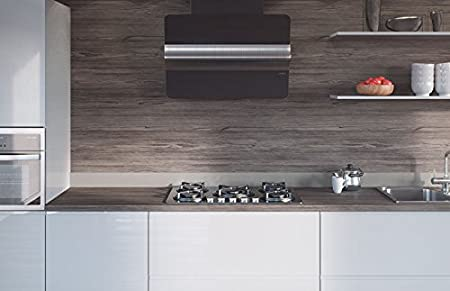 Egger Contemporary Graphite Fleetwood Wood Effect Kitchen Bathroom Laminate Worktop Offcut Work Surface 40mm Breakfast Bar - 3m x 670mm x 38mm Breakfast Bar