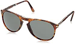 Persol Men 1503085001 Tortoise/Green Sunglasses 55mm