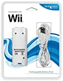 echange, troc Blue Ocean Accessories Remote Recharge Battery Pack (Wii) [import anglais]
