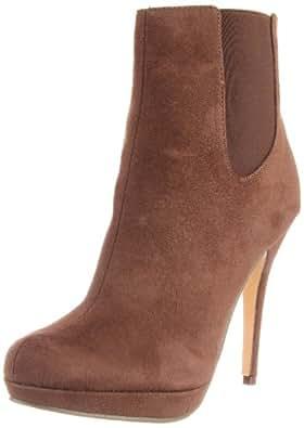 Michael Antonio Women's Morea Ankle Boot,Taupe,6.5 M US