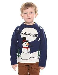 costumeshop Kids Snowman Sleigh Sweater