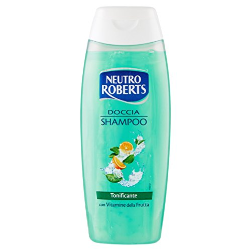 Neutro Roberts - Shampoo Doccia, Protezione Attiva, Con Vitamine Della Frutta, Protettivo E Tonificante -  250 Ml