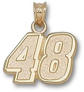 Logoart Jimmie Johnson 10K Medium Number Pendant by Logo Art