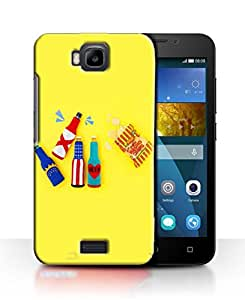 PrintFunny Designer Printed Case For HuaweiHonorBee