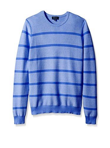 Thirty Five Kent Men's Links Stripe Crew Neck Sweater