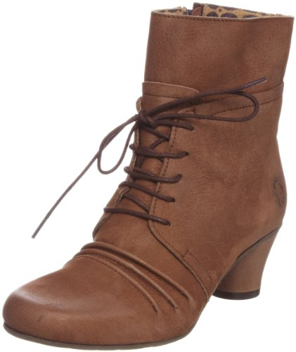 Fly London Women's Veran Mocca Lace Ups Boots P142016001 7 UK