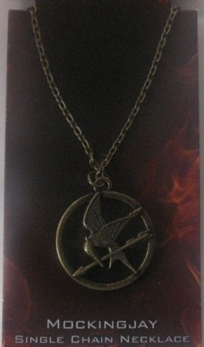The Hunger Games Movie Mockingjay Pendant on Single Chain