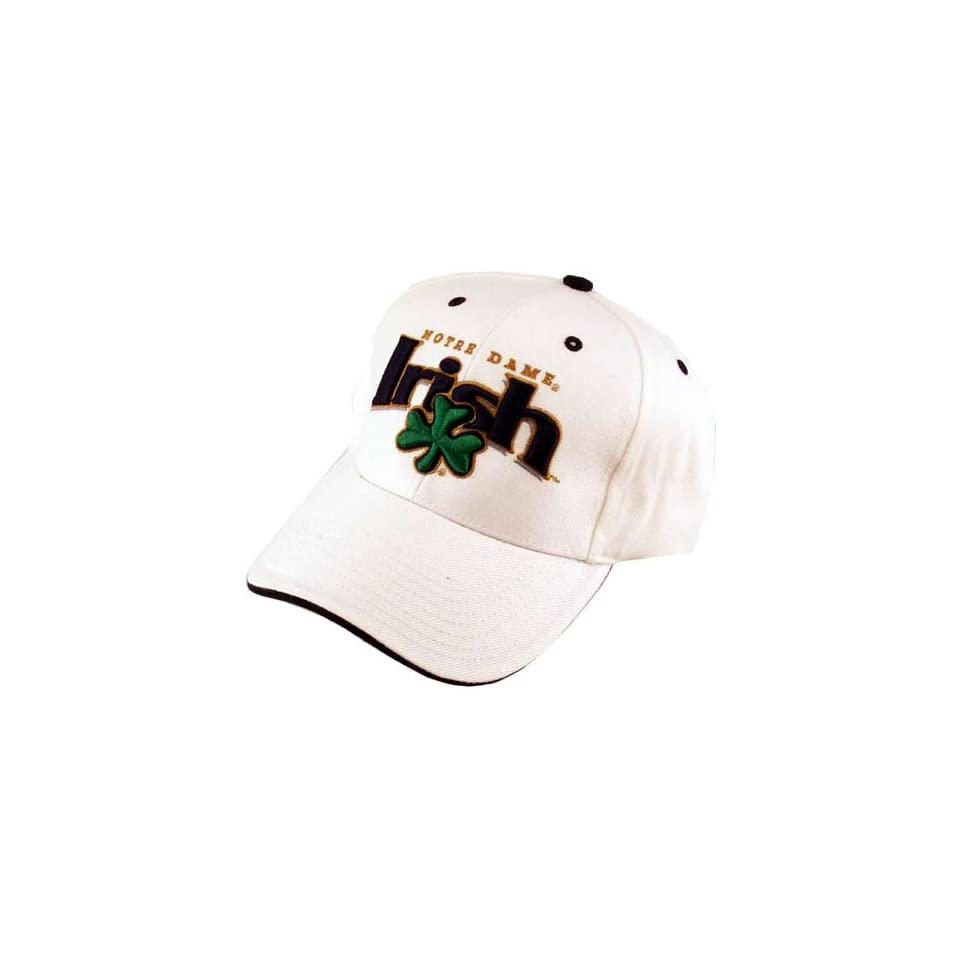 Notre Dame Fighting Irish White Fleet Hat