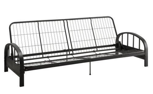 DHP Aiden Futon Frame, Black (Full Size Futon Sofa compare prices)