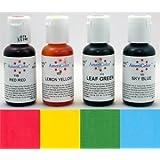 AmeriColor Beginner Soft Gel Paste Food Color 4 Pack Kit
