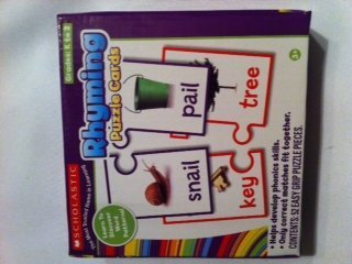 Scholastic Rhyming Puzzle Cards Grades K to 2