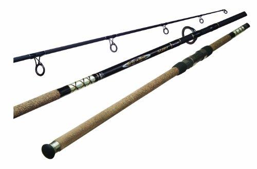 Okuma's Solaris Surf Fishing Rods-SS-S-1102H-2 (Black, 11-Feet)