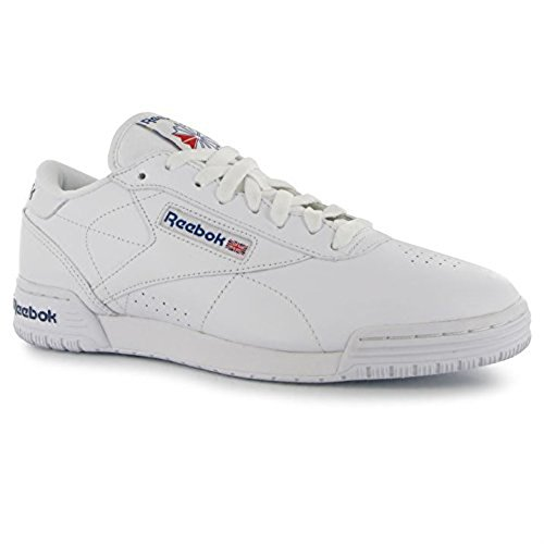 reebok-mens-exofit-low-trainers-lace-up-casual-sports-shoes-footwear-white-royblue-uk-7405