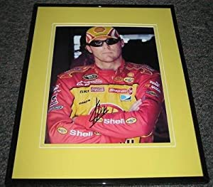 Autographed Kevin Harvick Photograph - Shell Framed 8x10 - Autographed NASCAR Photos by Sports Memorabilia