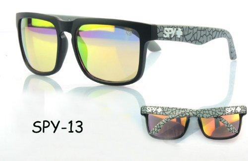 d90c67abcba Men s Womens Spy Helm Eyewear Retro Personalized Sunglasses - Import It All