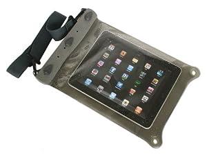 AQUAPAC wasserdichte iPad/Tablet-Tasche, transparent/grau, Groß, 668