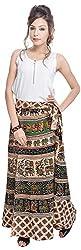 Soundarya Women's Cotton Wrap Skirt (6044, Long)