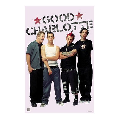 (24x36) Good Charlotte (Group Standing) Music Poster Print (Good Charlotte Poster compare prices)