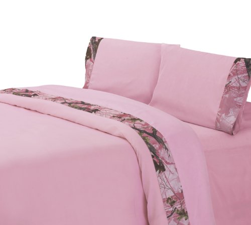 Pink Camo Bedding Twin 4675 front