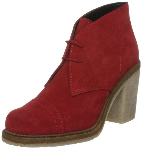 French Connection Women's Dee 2 Sfbg6 Red Lace Ups Boots 2455350209 7 UK