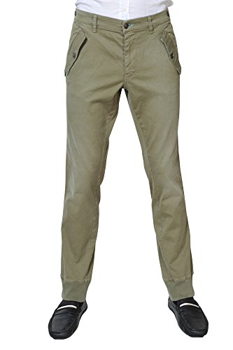 Jcolor Pantaloni Uomo Verde / Jeans normale Taglio Largo