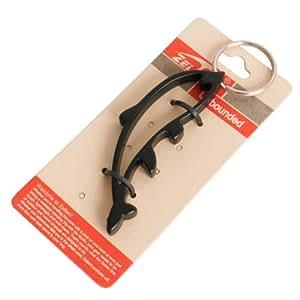zelten dolphin bottle opener key ring aluminium alloy sports outdoors. Black Bedroom Furniture Sets. Home Design Ideas