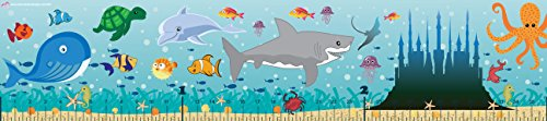 Mona Melisa Designs Baby Growth Chart, Ocean