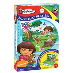 Dora Puppy 3-D Deluxe Colorforms Play Set