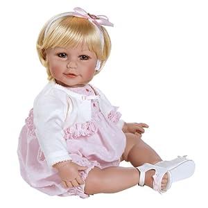 Amazon.com: Adora Baby Cakes Light Blonde Hair with Blue