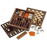 Drueke Ultimate Game Box with Backgammon