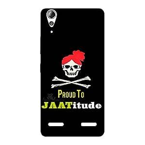 Ajay Enterprises Jatitude Back Case Cover for Lenovo A6000 Plus
