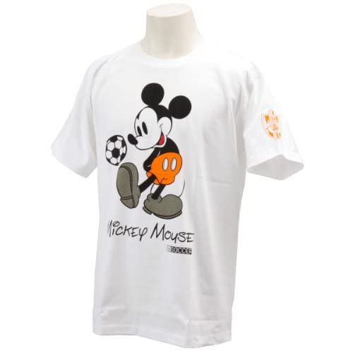(Jリーグエンタープライズ)J.LEAGU ENTERPRISE ミッキーTシャツ 清水エスパルス 11330535 SS ホワイト(清水エスパルス) M