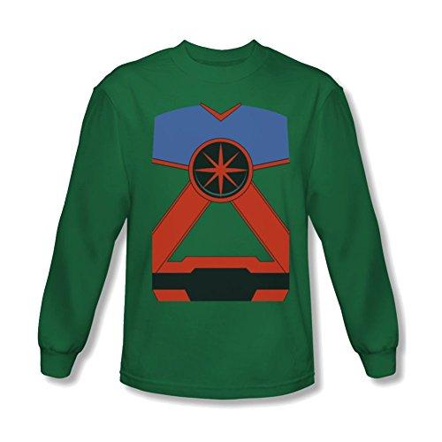 Martian Manhunter Costume Long Sleeve T-Shirt